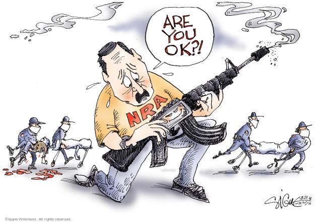 Signe Wilkinson  Signe Wilkinson's Editorial Cartoons 2021-03-24 gun control