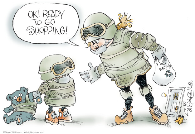Signe Wilkinson  Signe Wilkinson's Editorial Cartoons 2021-03-25 gun rights