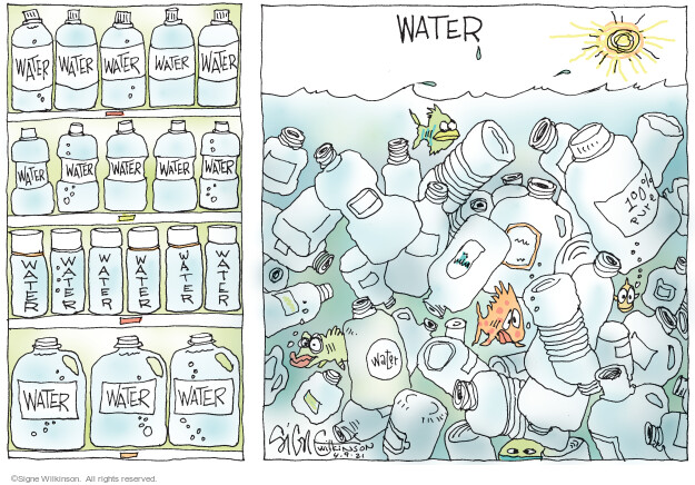 Signe Wilkinson  Signe Wilkinson's Editorial Cartoons 2021-04-09 pollution