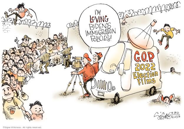 Signe Wilkinson  Signe Wilkinson's Editorial Cartoons 2021-04-29 republican politician