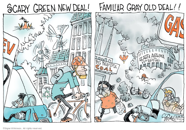 Signe Wilkinson  Signe Wilkinson's Editorial Cartoons 2021-05-06 pollution