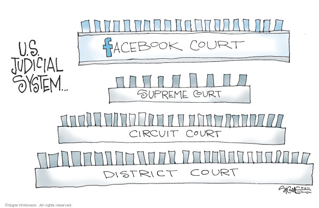 Signe Wilkinson  Signe Wilkinson's Editorial Cartoons 2021-05-07 social media
