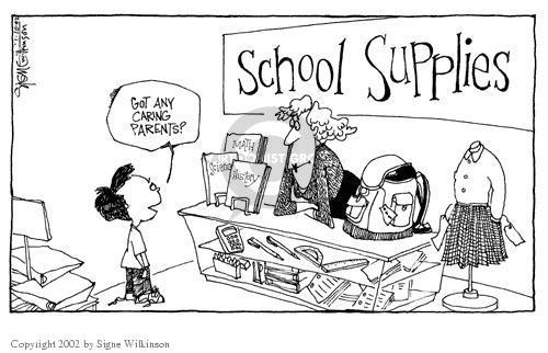 Signe Wilkinson  Signe Wilkinson's Editorial Cartoons 2002-01-10 equipment