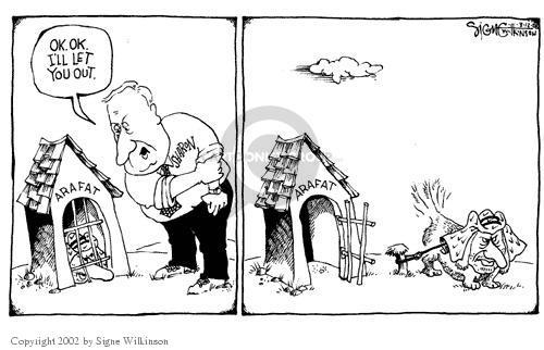 Signe Wilkinson  Signe Wilkinson's Editorial Cartoons 2002-03-12 Israel
