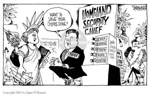 Signe Wilkinson  Signe Wilkinson's Editorial Cartoons 2002-03-14 patriotic