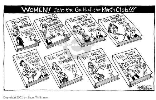 Signe Wilkinson  Signe Wilkinson's Editorial Cartoons 2002-05-02 gender