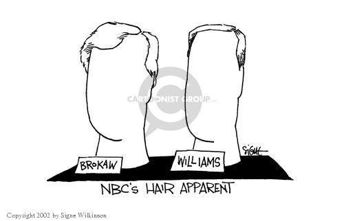 Cartoonist Signe Wilkinson  Signe Wilkinson's Editorial Cartoons 2002-05-29 network news
