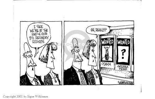 Signe Wilkinson  Signe Wilkinson's Editorial Cartoons 2002-05-31 poster