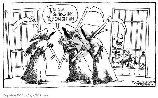 Signe Wilkinson  Signe Wilkinson's Editorial Cartoons 2002-06-11 avoid