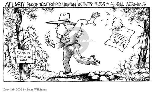 Cartoonist Signe Wilkinson  Signe Wilkinson's Editorial Cartoons 2002-06-18 danger