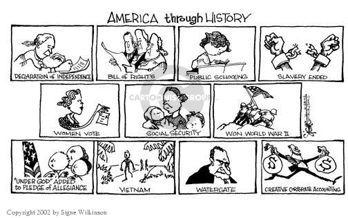 Signe Wilkinson  Signe Wilkinson's Editorial Cartoons 2002-06-27 women's history