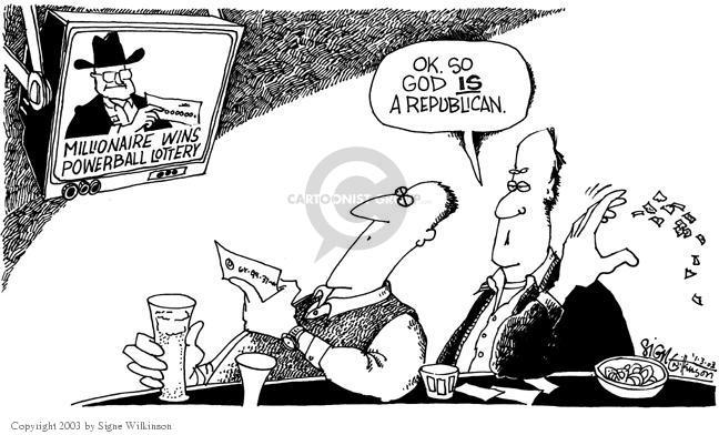 Signe Wilkinson  Signe Wilkinson's Editorial Cartoons 2003-01-03 affiliate