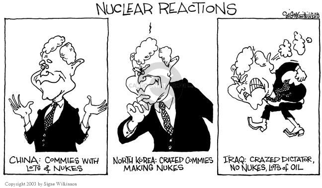 Signe Wilkinson  Signe Wilkinson's Editorial Cartoons 2003-01-06 dictator