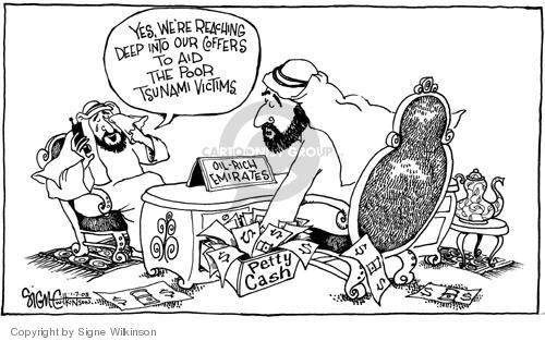 Signe Wilkinson  Signe Wilkinson's Editorial Cartoons 2005-01-07 relief