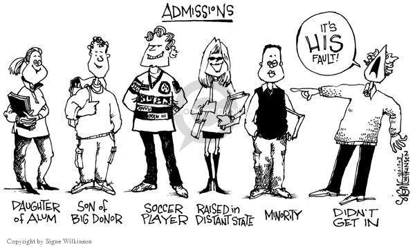 Signe Wilkinson  Signe Wilkinson's Editorial Cartoons 2003-01-17 minority