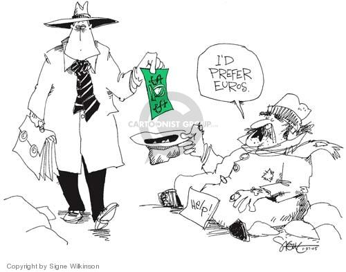 Signe Wilkinson  Signe Wilkinson's Editorial Cartoons 2005-01-25 weak
