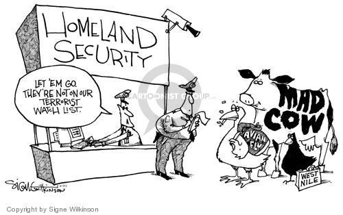 Signe Wilkinson  Signe Wilkinson's Editorial Cartoons 2004-02-06 sickness