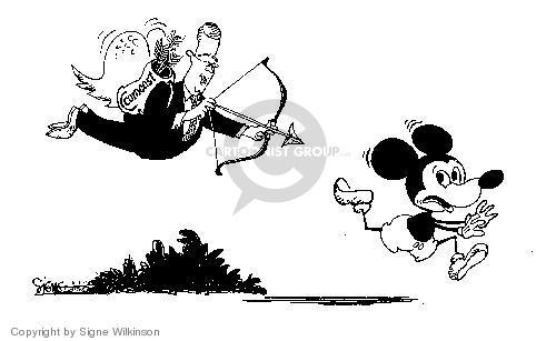 Signe Wilkinson  Signe Wilkinson's Editorial Cartoons 2004-02-12 cupid