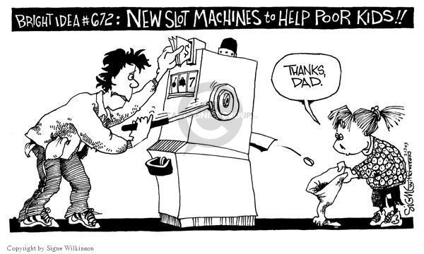 Cartoonist Signe Wilkinson  Signe Wilkinson's Editorial Cartoons 2003-02-13 idea