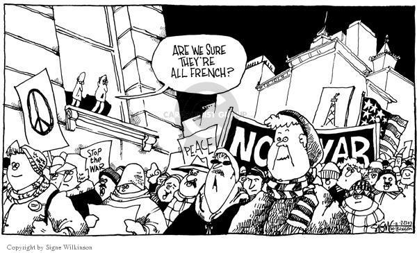 Signe Wilkinson  Signe Wilkinson's Editorial Cartoons 2003-02-17 number
