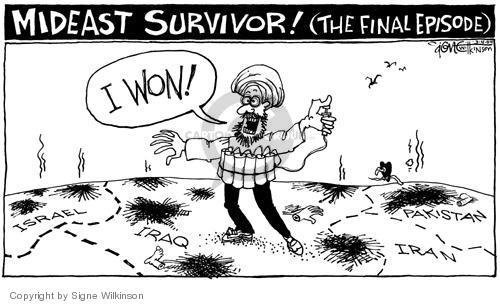 Signe Wilkinson  Signe Wilkinson's Editorial Cartoons 2004-03-04 Israel