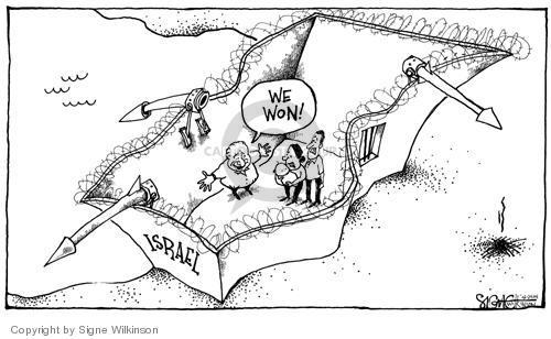 Signe Wilkinson  Signe Wilkinson's Editorial Cartoons 2004-03-23 Israel