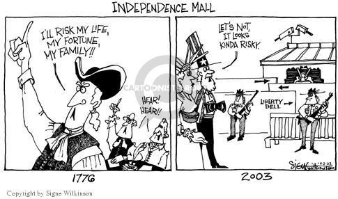 Signe Wilkinson  Signe Wilkinson's Editorial Cartoons 2003-04-02 patriotic