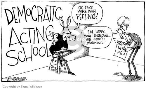 Cartoonist Signe Wilkinson  Signe Wilkinson's Editorial Cartoons 2004-04-07 2004 election