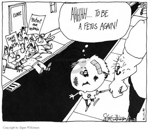 Cartoonist Signe Wilkinson  Signe Wilkinson's Editorial Cartoons 1989-04-10 rights
