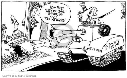 Signe Wilkinson  Signe Wilkinson's Editorial Cartoons 2004-04-12 federal budget