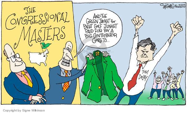 Signe Wilkinson  Signe Wilkinson's Editorial Cartoons 2005-04-12 political leader