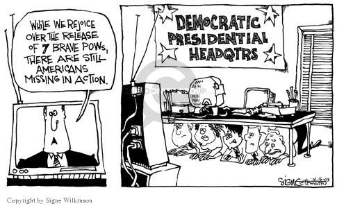 Signe Wilkinson  Signe Wilkinson's Editorial Cartoons 2003-04-16 candidate