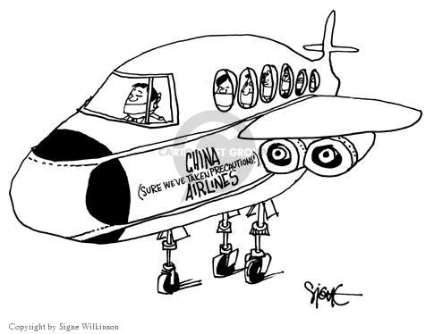 China (Sure Weve Taken Precautions) Airlines.
