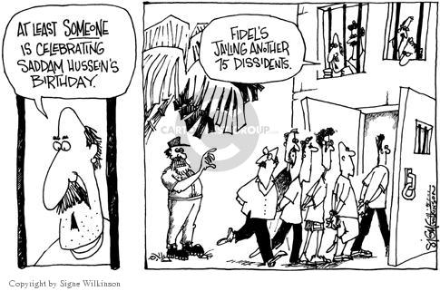Signe Wilkinson  Signe Wilkinson's Editorial Cartoons 2003-05-03 dictator