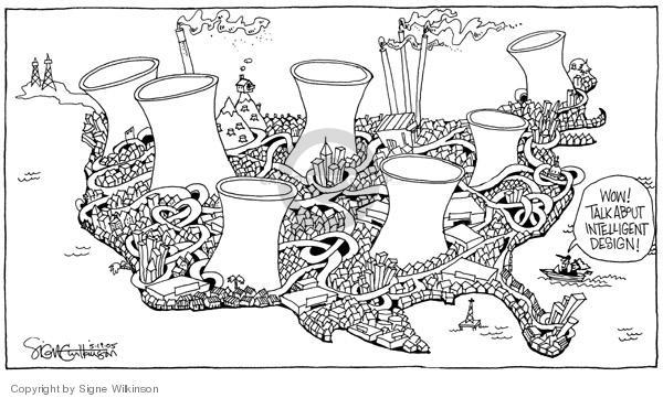 Signe Wilkinson  Signe Wilkinson's Editorial Cartoons 2005-05-19 wow