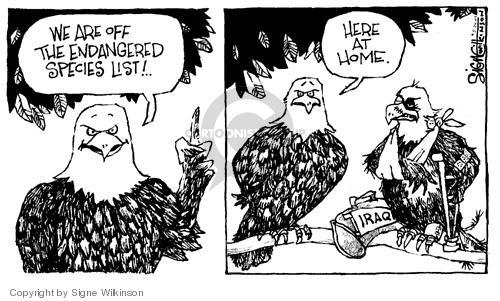 Signe Wilkinson  Signe Wilkinson's Editorial Cartoons 2004-05-24 species