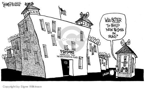 Signe Wilkinson  Signe Wilkinson's Editorial Cartoons 2004-05-27 percentage