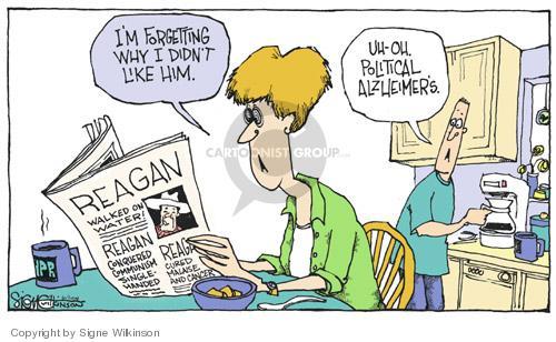 Cartoonist Signe Wilkinson  Signe Wilkinson's Editorial Cartoons 2004-06-09 cure