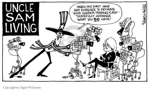 Cartoonist Signe Wilkinson  Signe Wilkinson's Editorial Cartoons 2003-06-12 proof