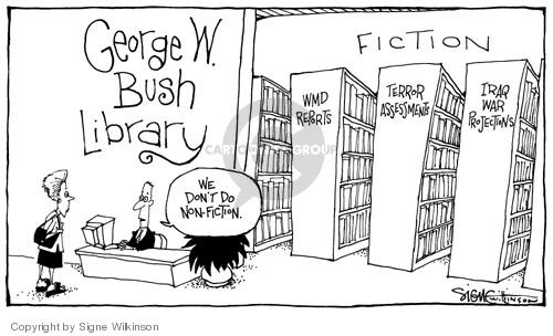 Cartoonist Signe Wilkinson  Signe Wilkinson's Editorial Cartoons 2004-06-15 true