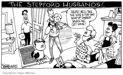 Signe Wilkinson  Signe Wilkinson's Editorial Cartoons 2004-06-16 gender
