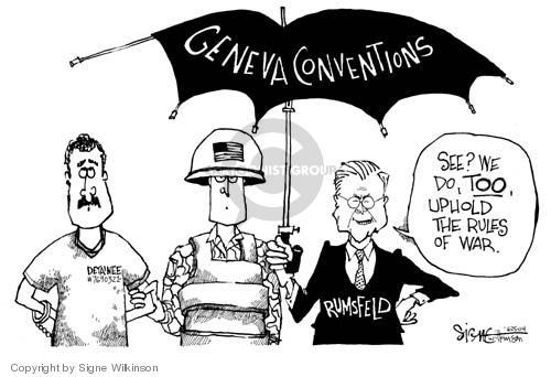 Cartoonist Signe Wilkinson  Signe Wilkinson's Editorial Cartoons 2004-06-25 agreement