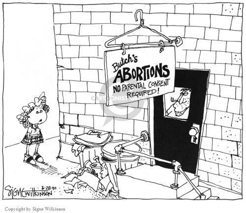 Cartoonist Signe Wilkinson  Signe Wilkinson's Editorial Cartoons 1990-06-28 danger