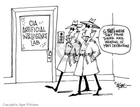 Cartoonist Signe Wilkinson  Signe Wilkinson's Editorial Cartoons 2003-07-01 proof