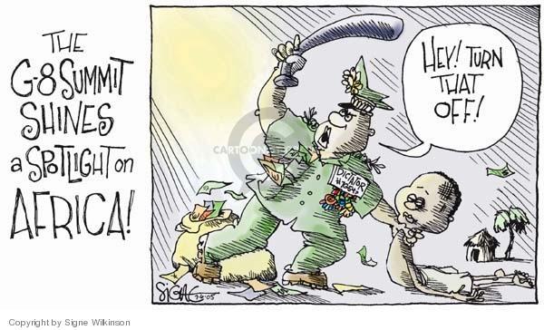Signe Wilkinson  Signe Wilkinson's Editorial Cartoons 2005-07-06 corruption