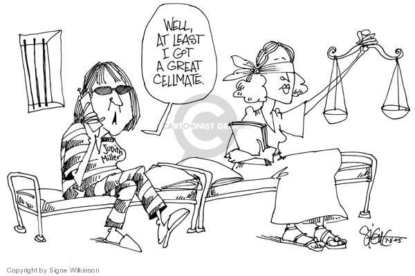 Signe Wilkinson  Signe Wilkinson's Editorial Cartoons 2005-07-08 freedom of the press