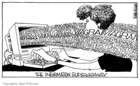 Cartoonist Signe Wilkinson  Signe Wilkinson's Editorial Cartoons 2003-07-21 answer