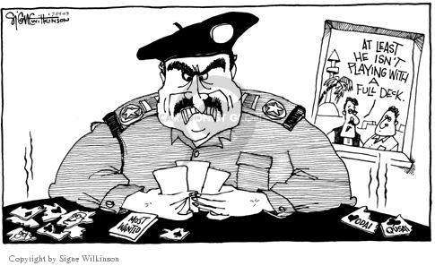 Cartoonist Signe Wilkinson  Signe Wilkinson's Editorial Cartoons 2003-07-24 full