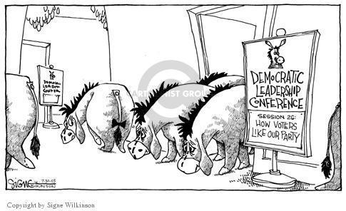 Signe Wilkinson  Signe Wilkinson's Editorial Cartoons 2003-07-30 candidate