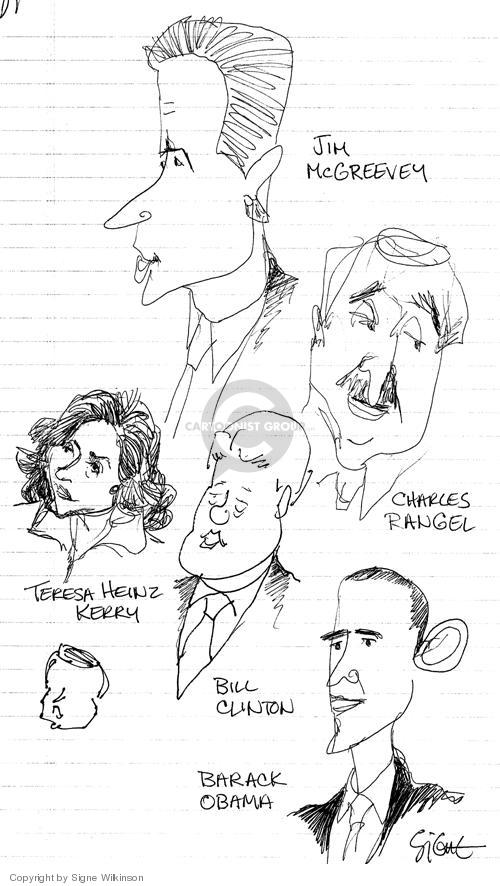 Signe Wilkinson  Signe Wilkinson's Editorial Cartoons 2004-07-30 democratic convention